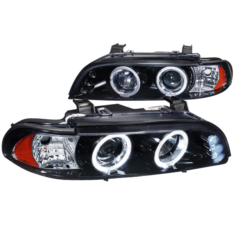 Spec-D Tuning 1996-2003 Bmw E39 M5 Halo Projector Led Headlights 96 97 98 99 00 01 02 03 (Left + Right)