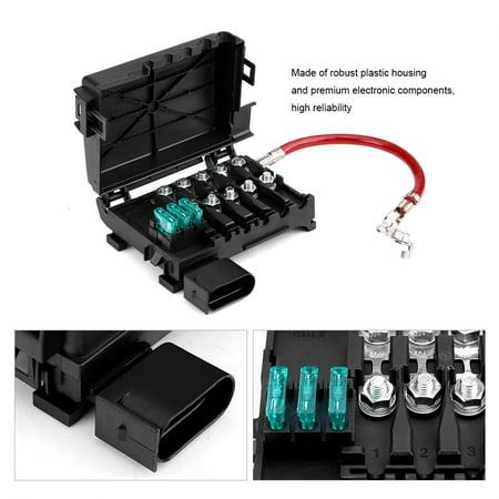 jetta battery fuse box faginey fuse box 1j0937550a car battery fuse box holder terminal  car battery fuse box holder terminal