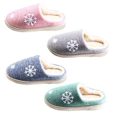 Autumn And Winter Anti-skid Warm Soft Cotton Couple Slippers Plush Indoor Shoe - image 7 of 7