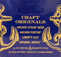 Anchor Craft Originals Beer, 12 pack, 12 fl oz