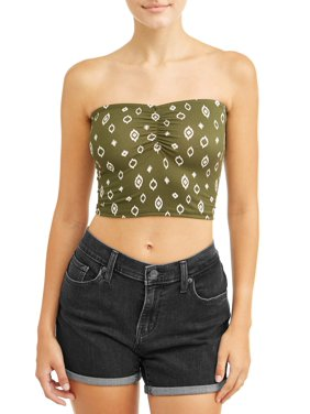 Juniors' Yummy Fitted Tube Top