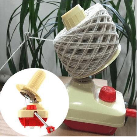 Wedlies Portable Hand-Operated Yarn Winder Wool Yarn Fiber String Thread Skein Machine Tool