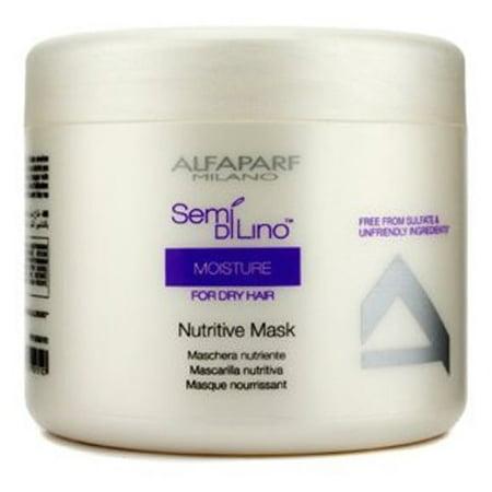 Alfaparf Semi Di Lino Moisture Nutritive Mask 500 ml / 16.91 Oz. For Dry