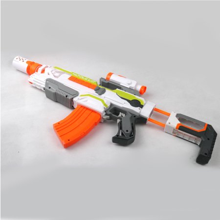 Modulus Targeting Scope Sight And Upgrade Muffler Accessory for Nerf Toys Gun