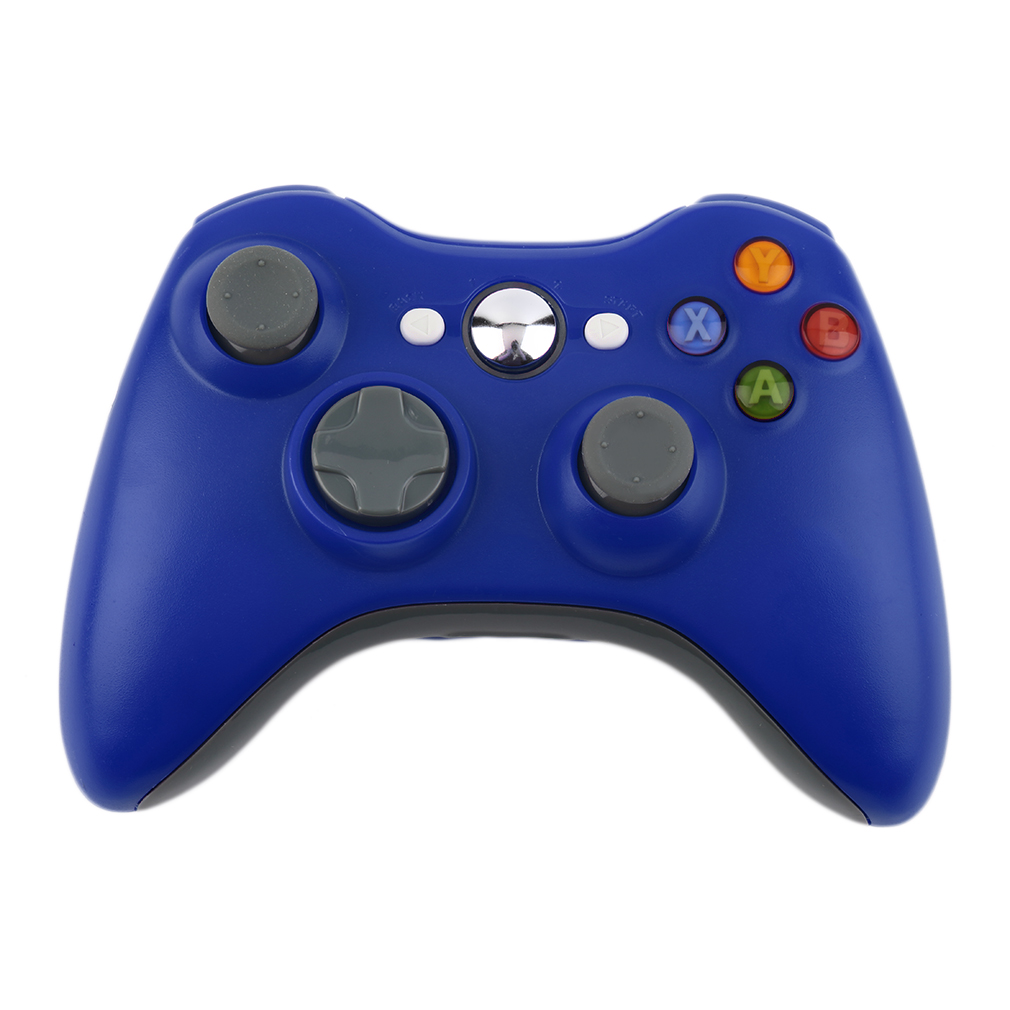 Blue 2.4G Wireless Gamepad Joypad Game Remote Controller Joystick With Pc Reciever