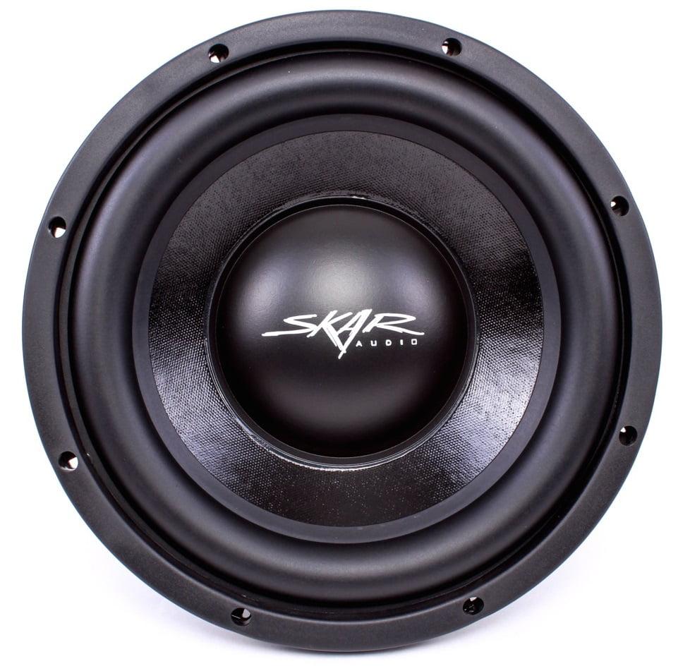 """Skar Audio IVX-10v2 D4 10"""" 800W Max Power Dual 4 Ohm Subwoofer"""