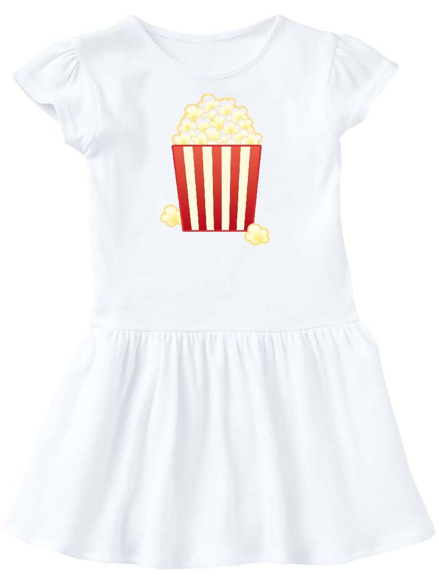 Popcorn Movie Treat Toddler Dress