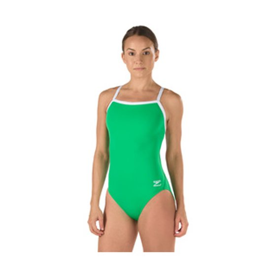 cf2dd30a31 Speedo - Speedo Women's Race Endurance+ Polyester Flyback Training One  Piece Swimsuit, Black, 28 - Walmart.com