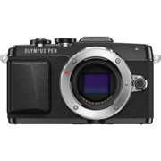 "Olympus Pen E-pl7 16.1 Megapixel Mirrorless Camera Body Only - Black - 3"" Touchscreen Lcd - 16:9 - Digital [is] - 4608 X 3456 Image - 1920 X 1080 Video - Hdmi - Pictbridge - Hd Movie (v205070bu000)"