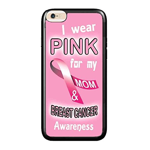 Ganma Pink Breast Cancer Awareness Case For mom ,daughter Rubber Case For iPhone 5, 5S, SE