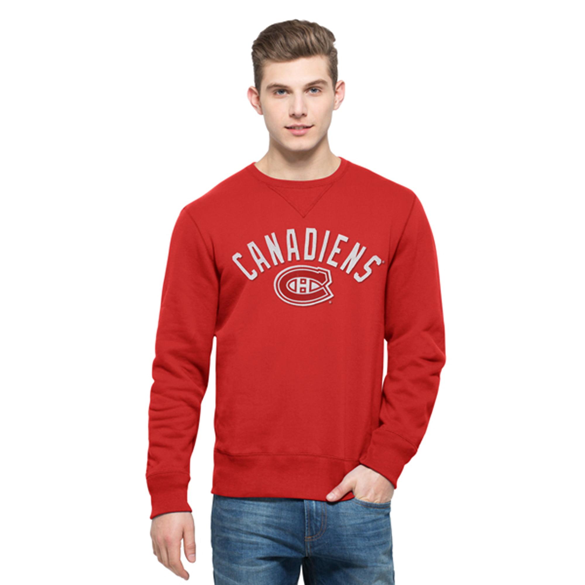 Montreal Canadiens '47 Cross-Check Sweatshirt - Red