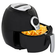 Zeny 1500W Electric Air Fryer W/ Timer, Temperature Control , Detachable Basket Handles Free Oil
