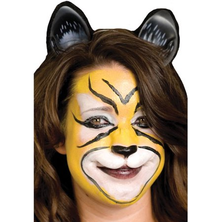 Woochie Small Cat Face Halloween Accessory - Halloween Cat Face Paint Tutorial