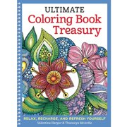 Design Originals Ultimate Adult Coloring Book Treasury