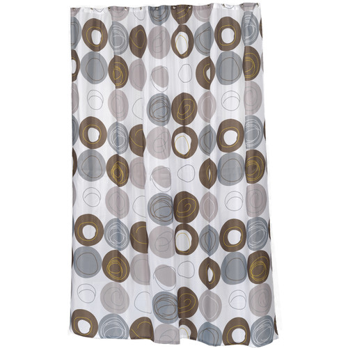 """Extra Long """"Madison"""" Fabric Shower Curtain, Size 70"""" Wide x 96"""" Long"""