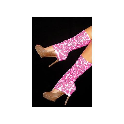 Espiral Pink Leg Warmers 1035 Animal Pink