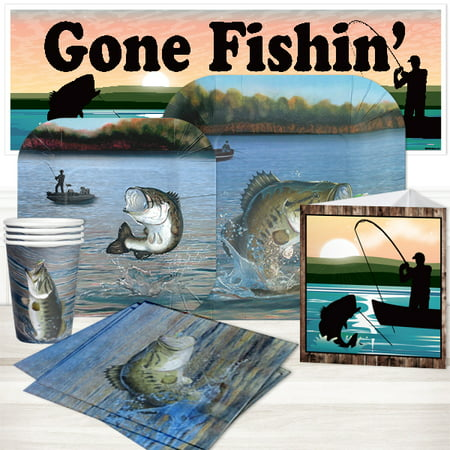Fishing Birthday Party (Bass Fishing Party Package for)