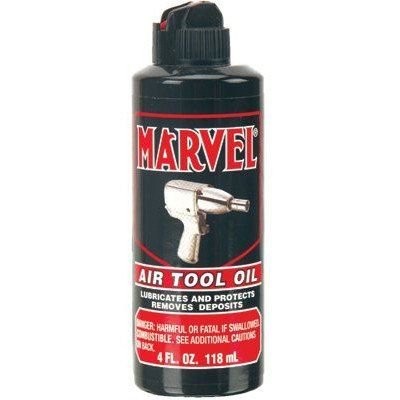 4OZ CAN W/SPOUT MARVEL AIR TOOL OIL