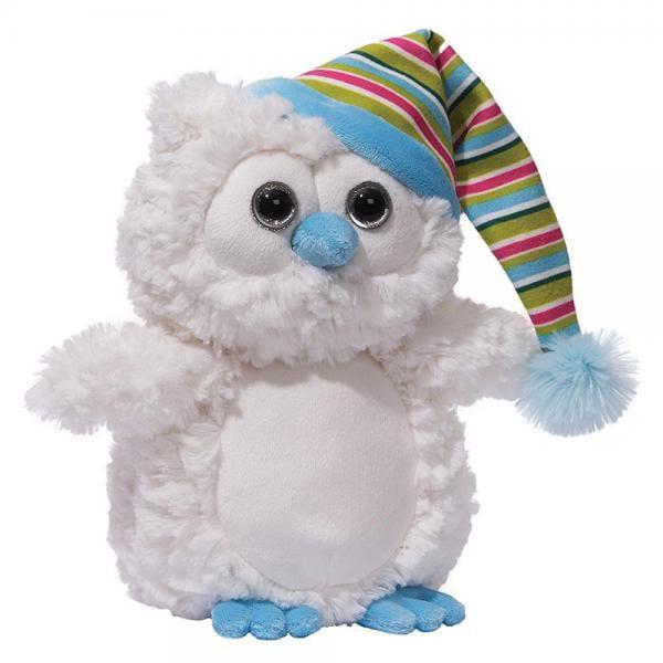 GUND Christmas 'Snowfall' White Owl Plush