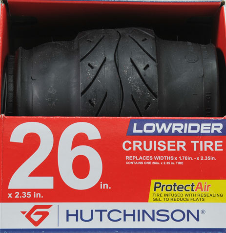 "Hutchinson Lowrider 26"" Tire"