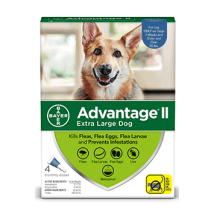 Dog Medication & Health Supplies: Bayer Advantage II Flea Treatment