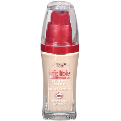 L'Oreal Paris Infallible Never Fail Liquid Makeup with SPF 20
