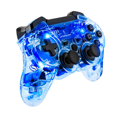 PDP Afterglow PS3 Wireless Controller, Blue, (Best Modded Ps3 Controller)