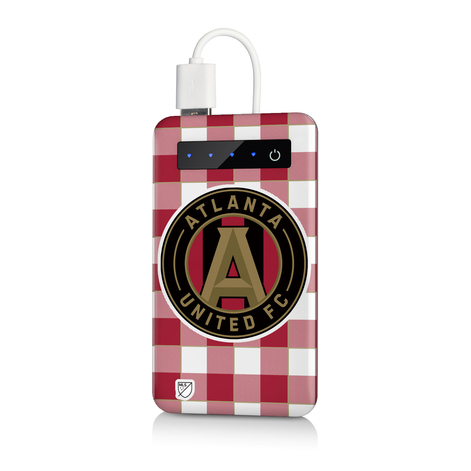 Atlanta United FC 4000mAh Portable USB Charger MLS