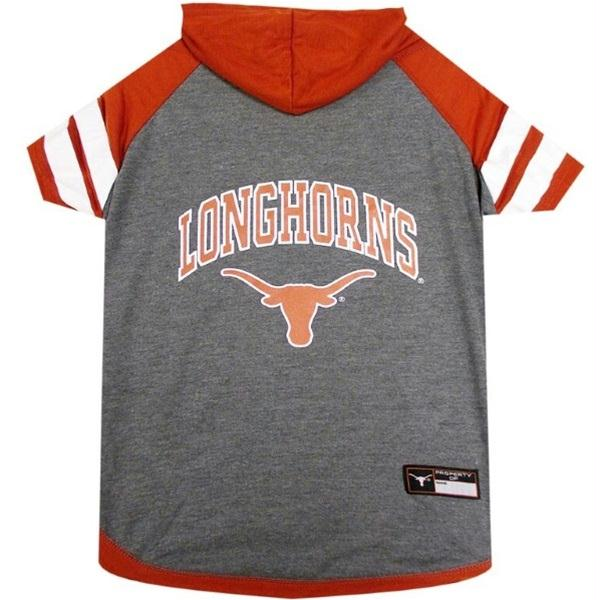 Texas Longhorns Dog Hoodie T-Shirt