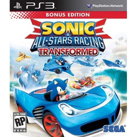 Sonic & All-Star Racing Transformed Bonus Edition, SEGA, PlayStation 3, 010086690644 (Sonic Halloween Racing)