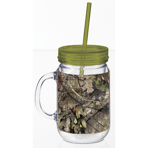 Evergreen Enterprises, Inc Mossy Oak Break Up Country Mason Jar 20 Oz. Tumbler