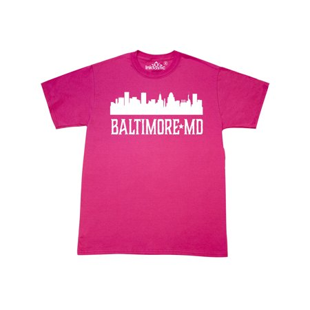 Baltimore Maryland Skyline City Silhouette T-Shirt - Party City Salisbury Maryland