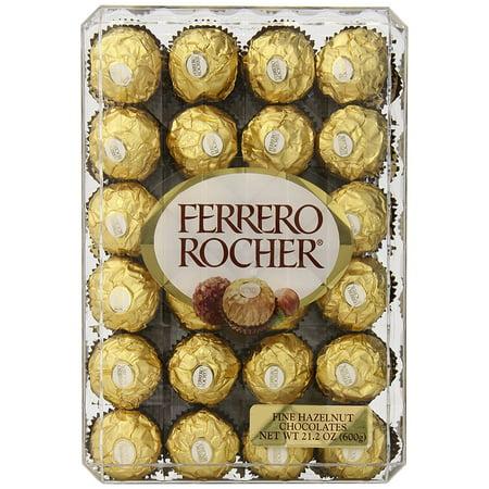 (Ferrero Rocher Hazelnut Chocolates - 48 Count, 21.1 oz.)