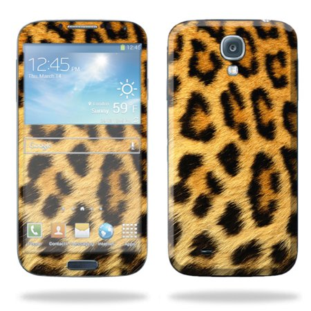 Mightyskins Protective Vinyl Skin Decal Cover For Samsung Galaxy S4 Cell Phone I337 Or I9500 Wrap Sticker Skins Cheetah