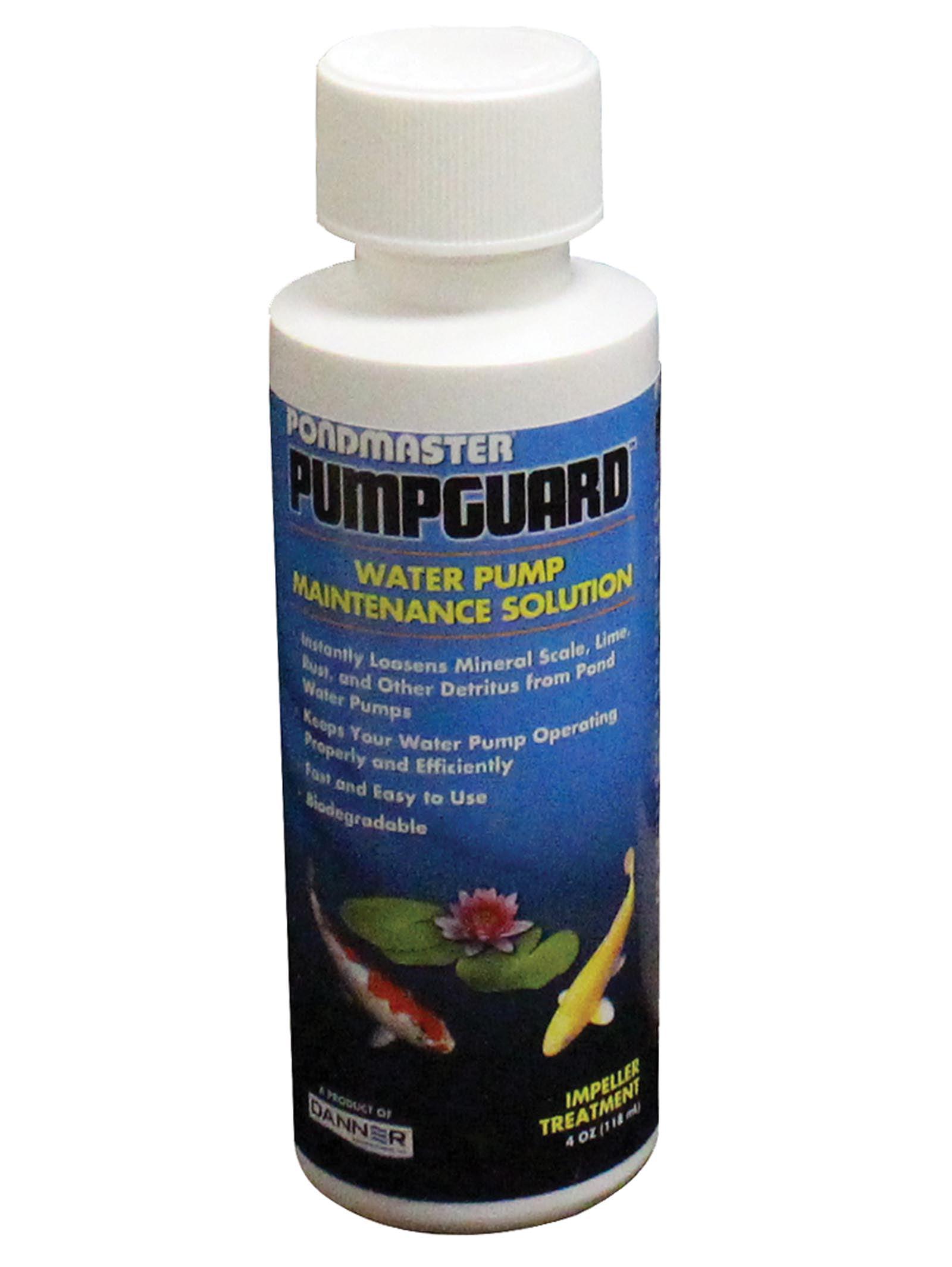 Pondmaster PumpGuard 03905 Garden Pond Water Pump Maintenance Solution | 4 oz. by