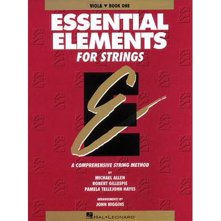 Essentials Series Book (Essential Elements for Strings - Book 1 (Original Series) : Viola )