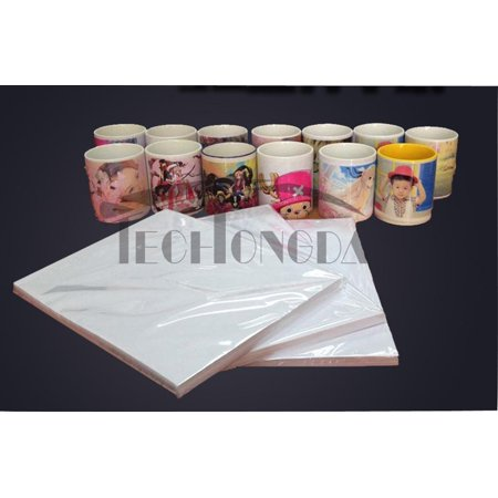 INTBUYING 100 Sheets A4 Quick-drying Dye Sublimation Transfer Paper Heat Press Printing 8.3