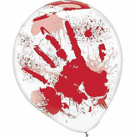Asylum Halloween Party (Asylum Printed Latex Balloons)