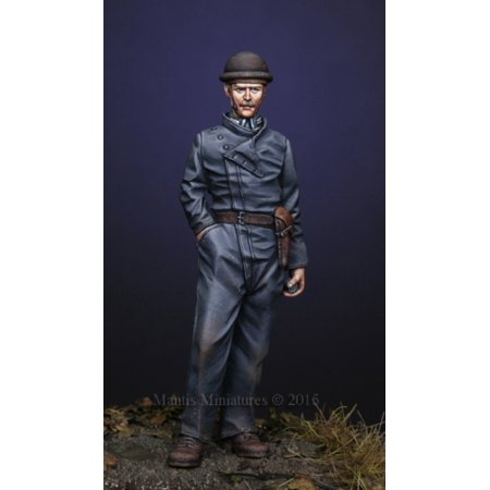 Mantis Miniatures 1:35 WWI German Tanker Resin Figure Kit -