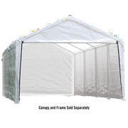 Canopy Enclosure Kit for the SuperMax 12ft. x 26ft. White (Frame and Canopy Sold Separately)