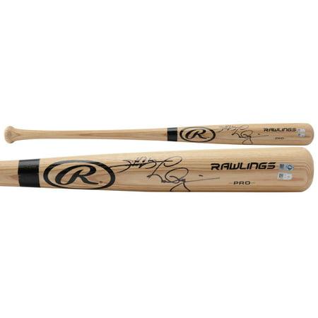 Mark McGwire & Sammy Sosa St. Louis Cardinals & Chicago Cubs Autographed Bat - Fanatics Authentic Certified