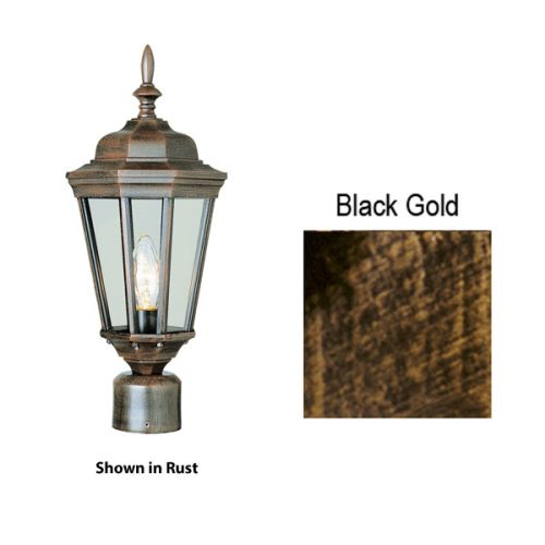Trans Globe Lighting 4096 1-Light Medium Outdoor Post Light from the Outdoor Collection
