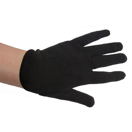SeasonsTrading Child Black Costume Gloves - Kids Halloween Accessory for $<!---->