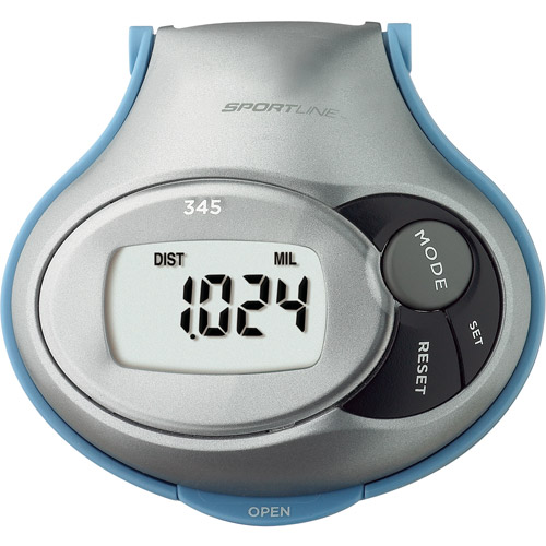 Sportline 345 Step, Distance and Calorie Pedometer