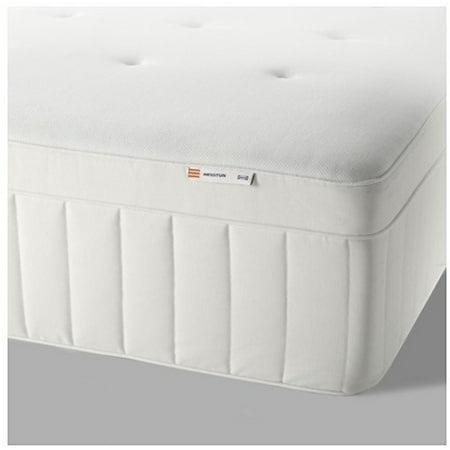 Ikea HESSTUN Spring mattress (Twin size), medium firm, white 1428.22314.1426 (Twin Ideas)