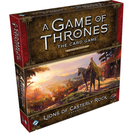 A Game of Thrones: The Card Game Second Edition: Lions of Casterly Rock Deluxe Expansion