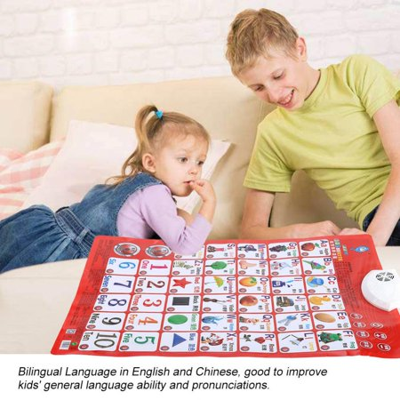 Baby Learning Sound Wall Charts English and Chinese Sounding Voice Chart ,  Baby Sounds Wall Chart,  Learning Sound Wall Chart (Baby Gender Chart)
