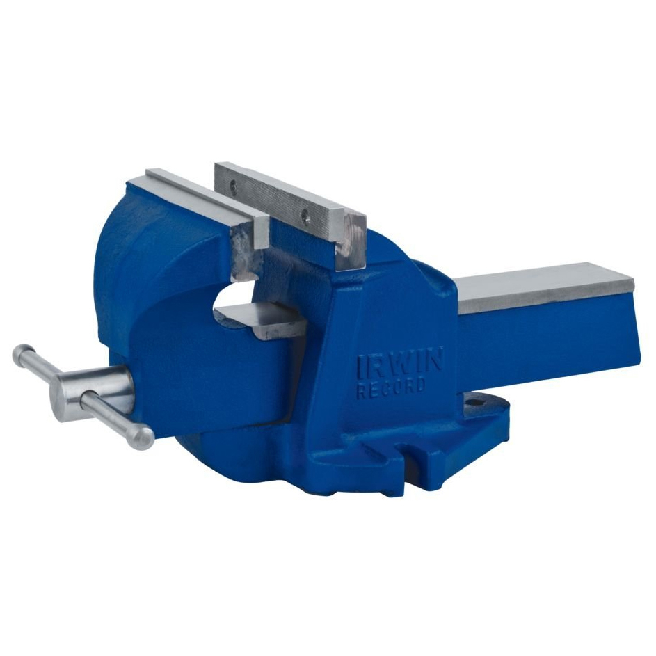 """Irwin 2026303 4-1 2"""" Blue Bench Vise by IRWIN INDUSTRIAL TOOL COMPANY"""
