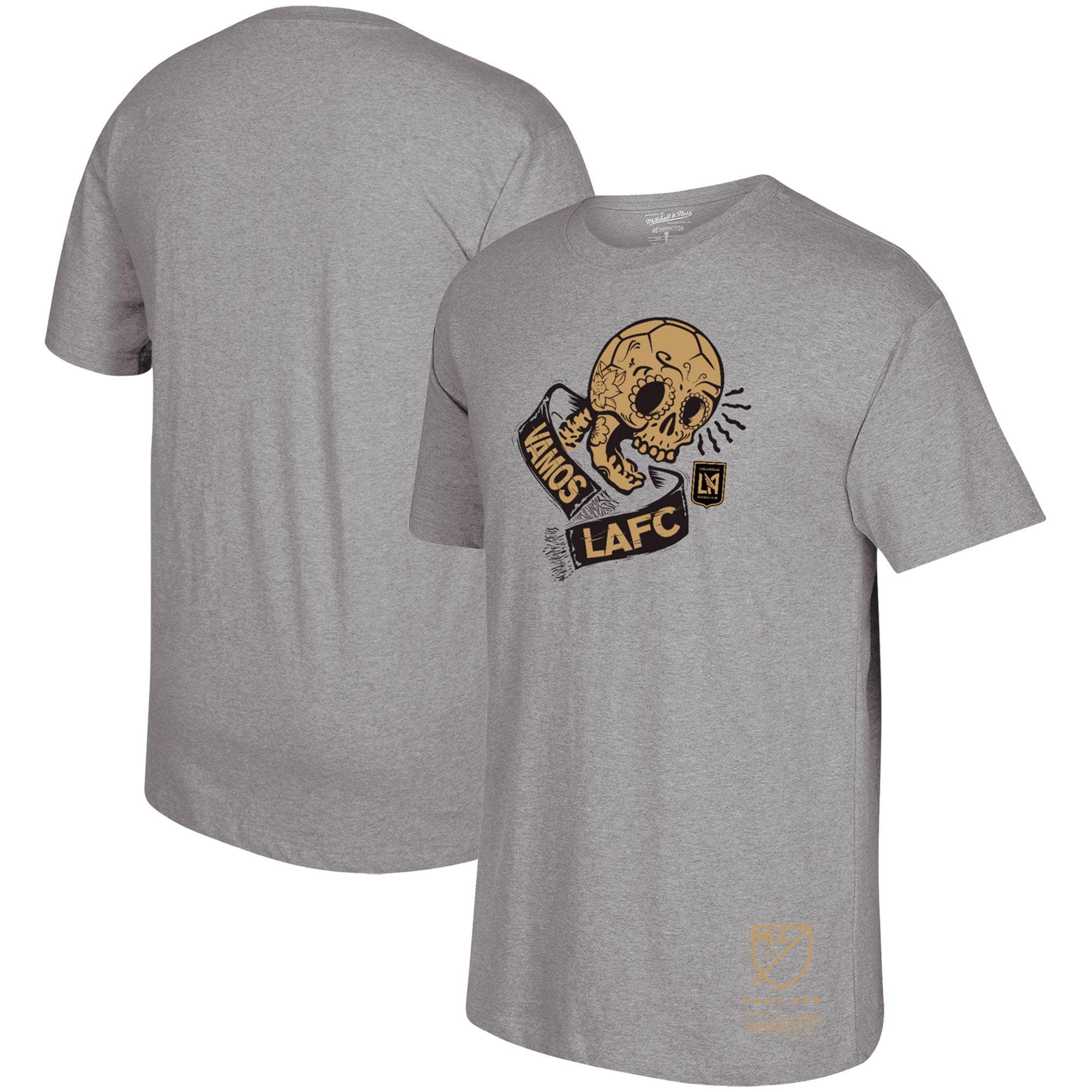 LAFC Mitchell & Ness Vamos T-Shirt - Heathered Gray