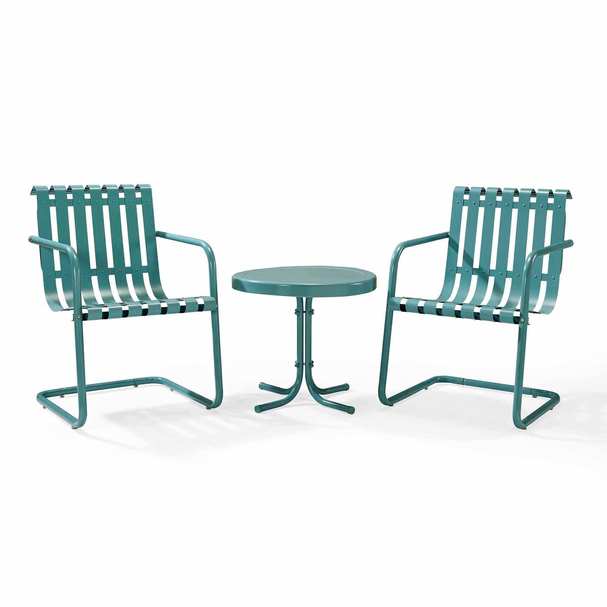 Crosley Furniture Gracie 3 Piece Metal Outdoor Conversation